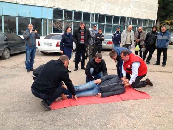 помощь пострадавшим в дтп с сочетанными травмами снова