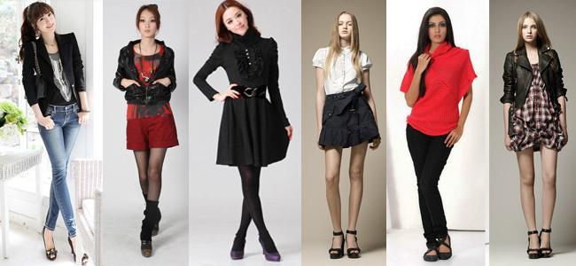 Стили Женской Одежды Фото