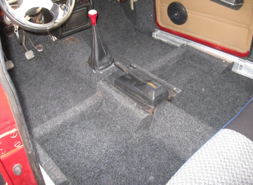 Напольное покрытие для автомобиля своими руками