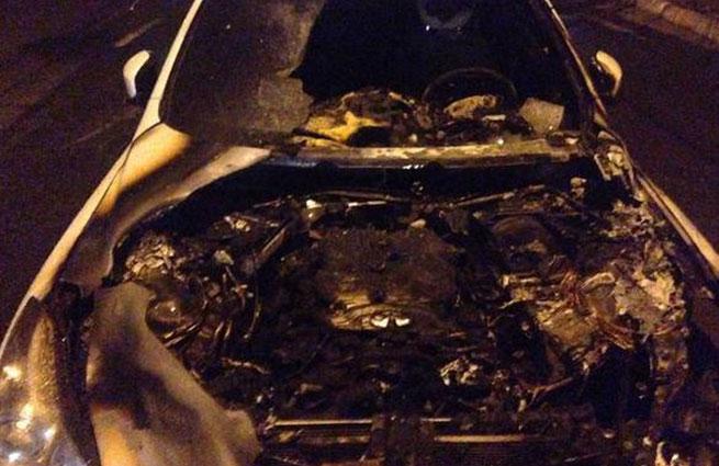 В Киеве ищут поджигателя «инфинити» пресс-секретаря Кличко