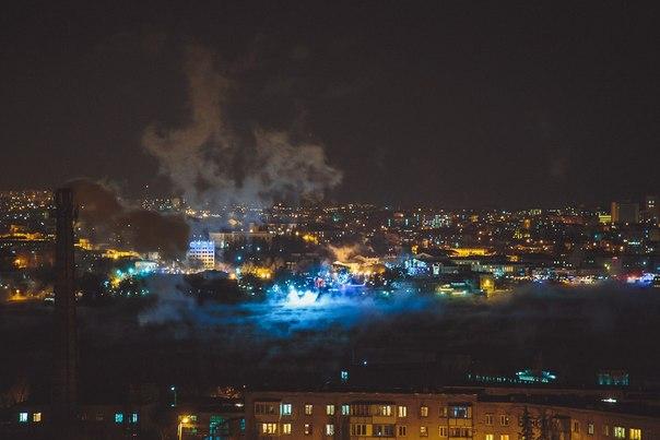 В Севастополе на Рождество