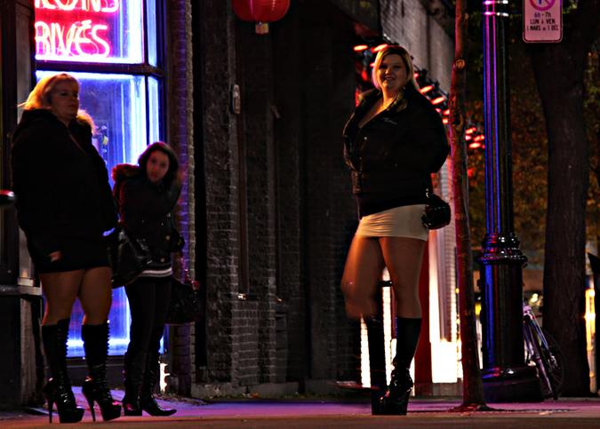 Проститутки на панель фото