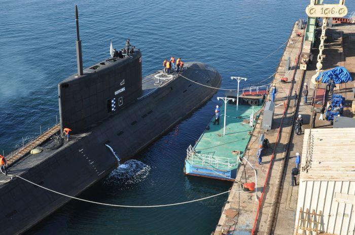 служба на подводной лодке в севастополе