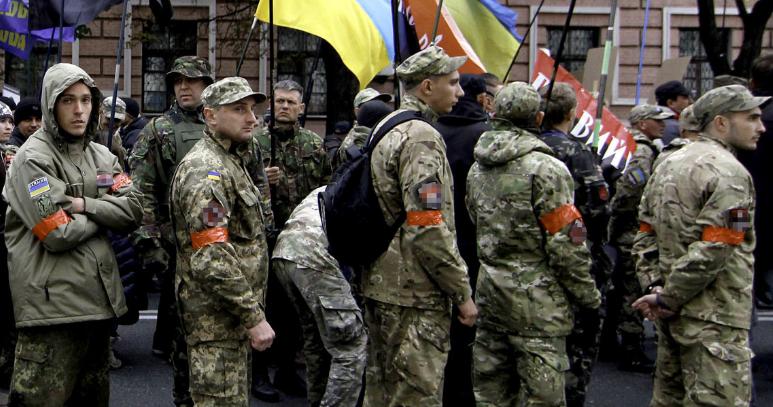 Бойцы ВСУ и «Правый сектор» устроили перестрелку в районе Авдеевки