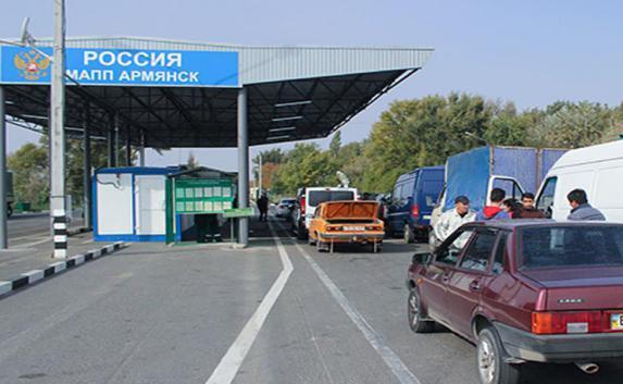 Крымские пограничники задержали украинца с  патронами