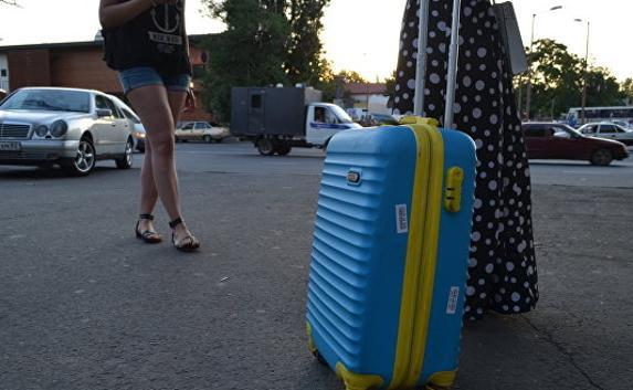 Украинцы едут отдыхать в Крым организованными группами