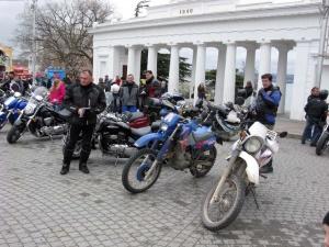 В Севастополе прошла акция «Осторожно, мотоциклист!»