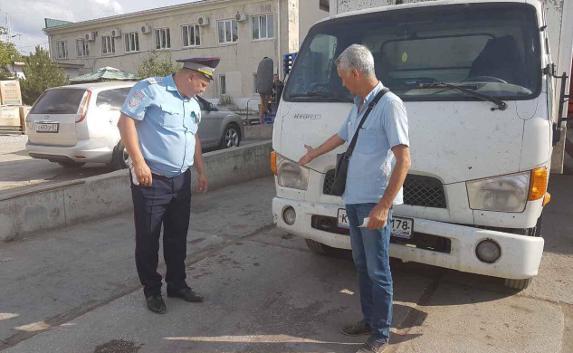 Задержан водитель грузовика, сбивший девочку в Массандре