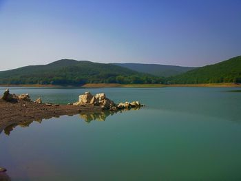 Чернореченское водохранилище Севастополя заполнено на 80%