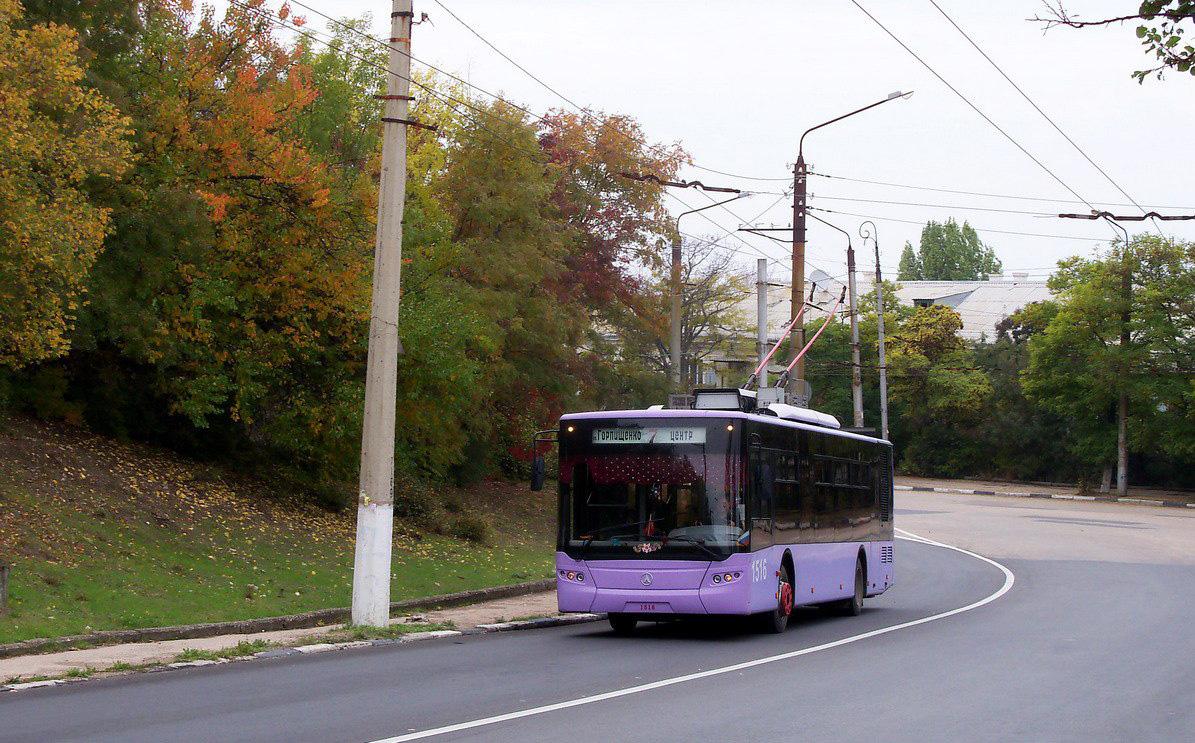Расписание всех троллейбусных маршрутов Севастополя (на конец 2018)