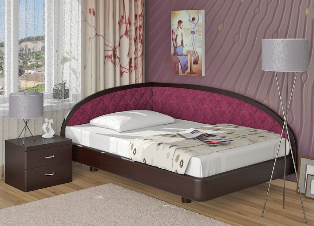 Полуторная кровать – идеальное решение для спальни